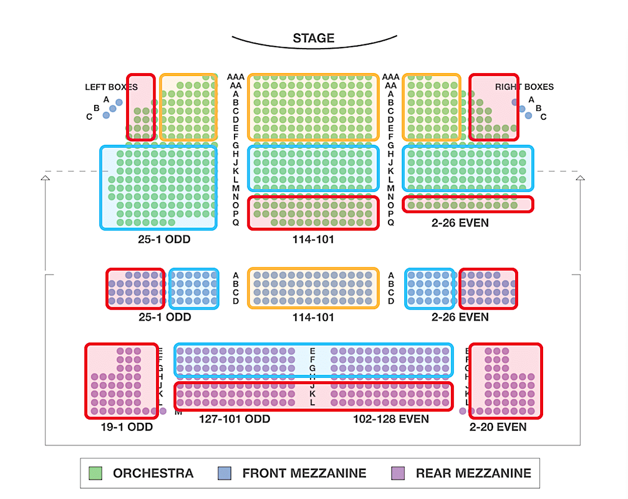 waitress-seating-chart